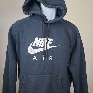 Nike Air hoodie pullover size large black